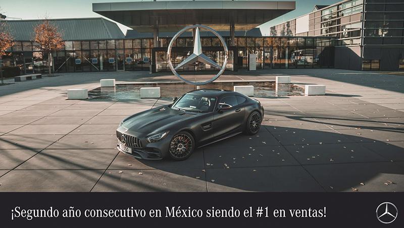 Mercedes-Benz México #1 en ventas en 2018
