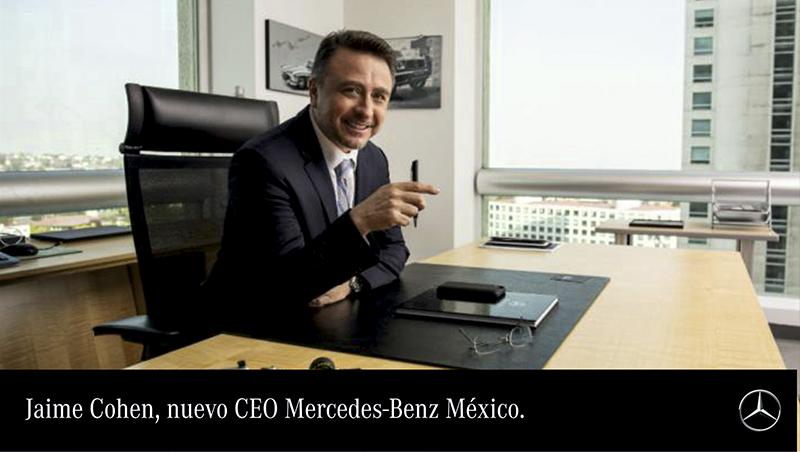 ¡Mercedes Benz presenta nuevo director!