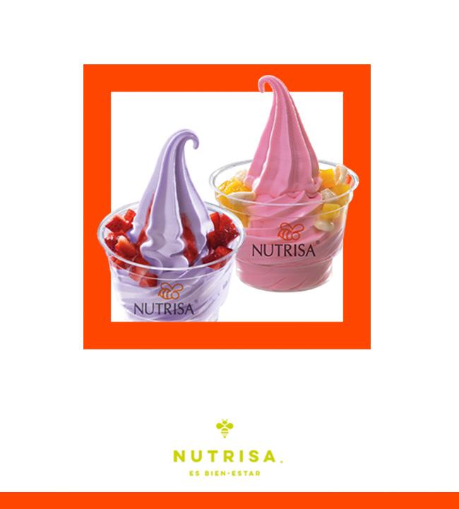 Jueves 2x1 helado suave doble - NUTRISA