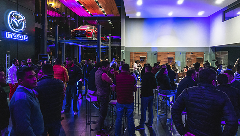 Mazda 3 llega a Ravisa